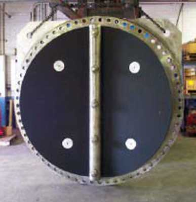 "84"" Waterflex potable water check valve elastomer disc"