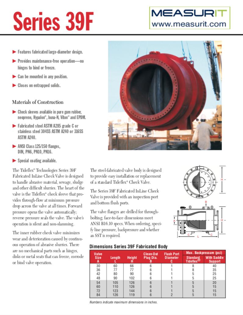 S39F data sheet