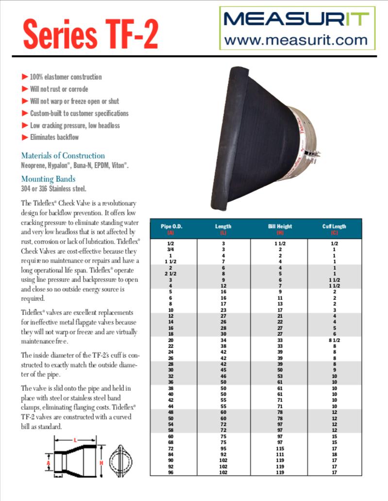 TF-2 data sheet
