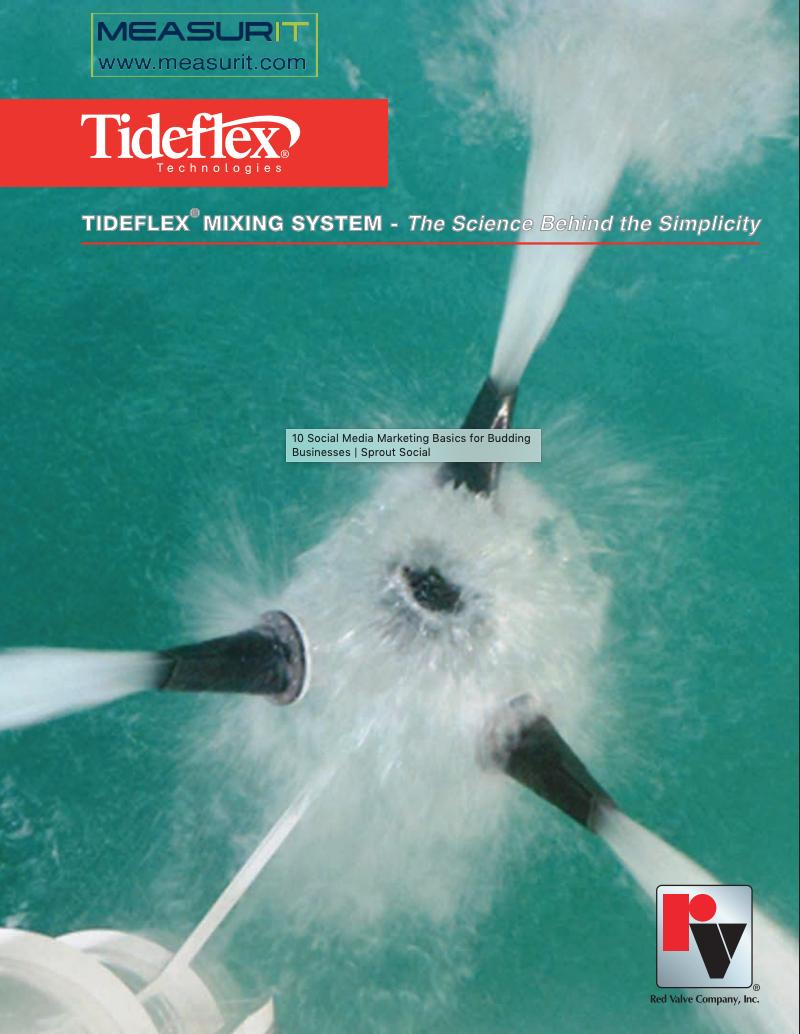 Tideflex mixing system brochure