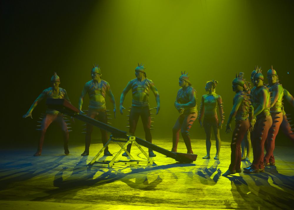 Acrobats at Chimelong International Circus, Guangzhou
