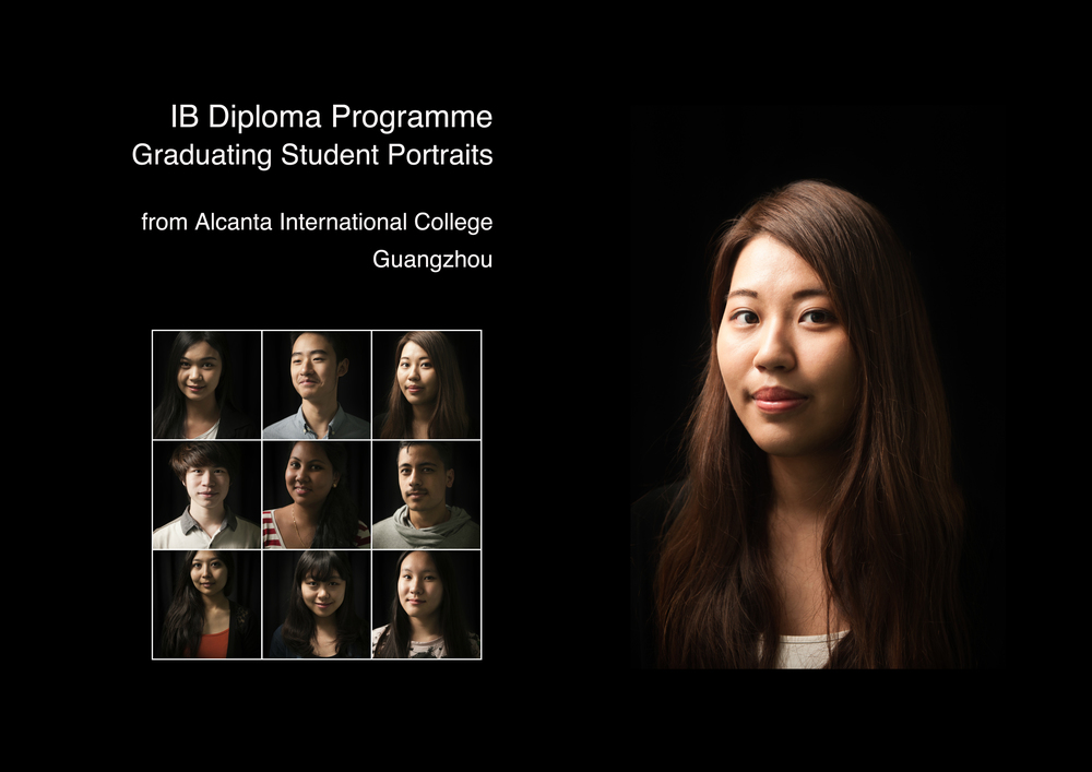 Jamie Lowe Photography Graduation Portraits of students graduating from Alcanta International College Guangzhou