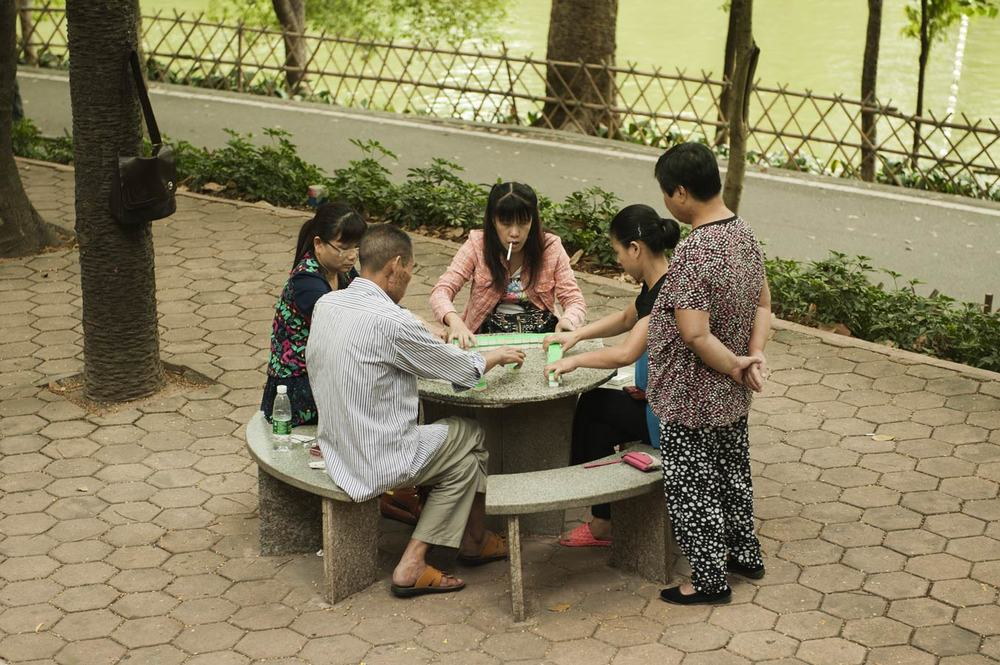 Jamie Lowe Photography Park Life Tianhe Mahjong Game