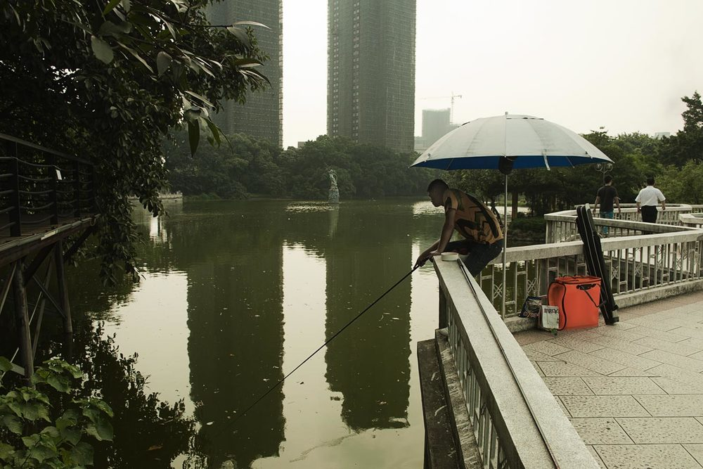 Jamie Lowe Photography Park Life Fishing Foshan