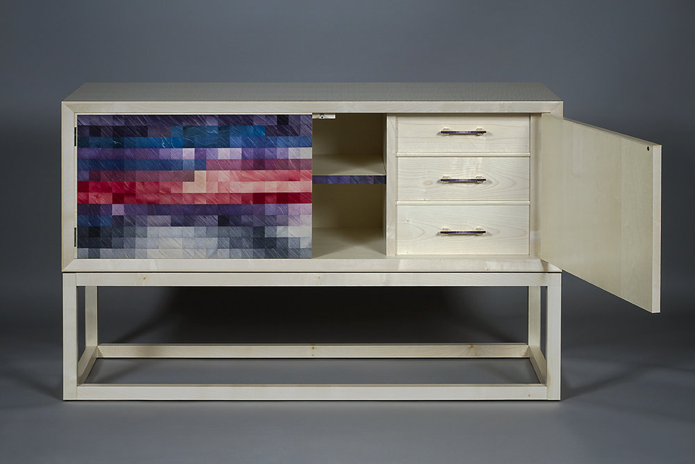 Morning Storm sideboard/cabinet