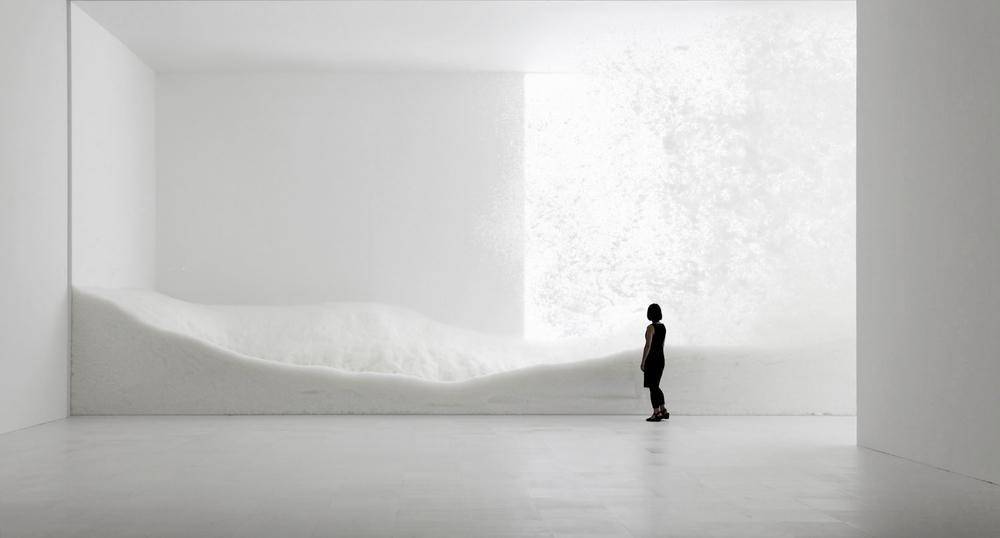 Snow by Tokujin Yoshioka