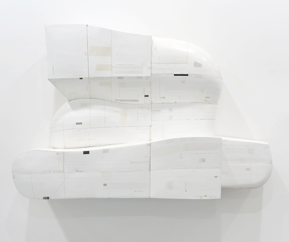 #73 by Hiroyuki Hamada   2011-13, painted resin, 46″ x 70″ x 25″