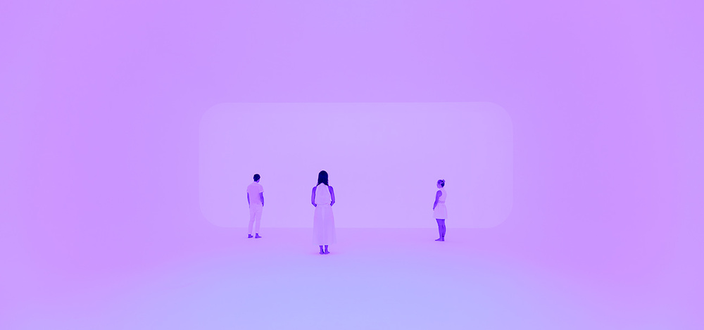 James Turrell 'Virtuality squared' 2014