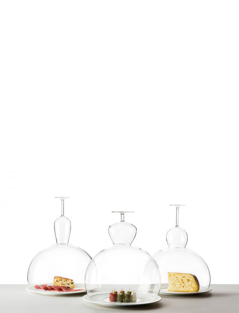 Glass collections | Untypical creations to be used daily, designed by Fabrica.