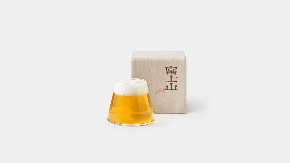 Fujiyama Beer Glass