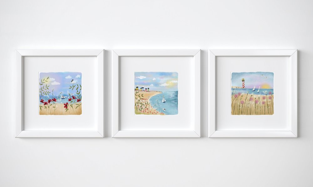 Beaches by Joy Laforme