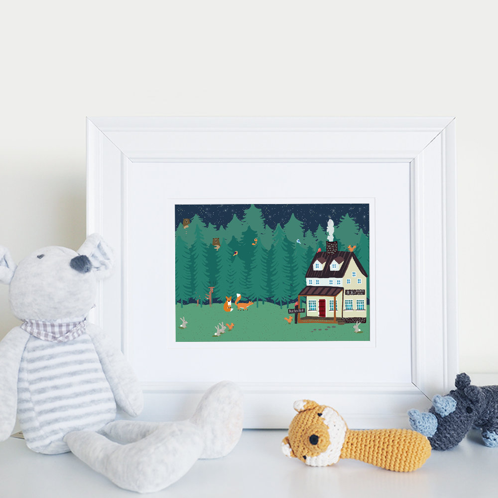 Forest Hide and Seek by Joy Laforme for Oopsy Daisy