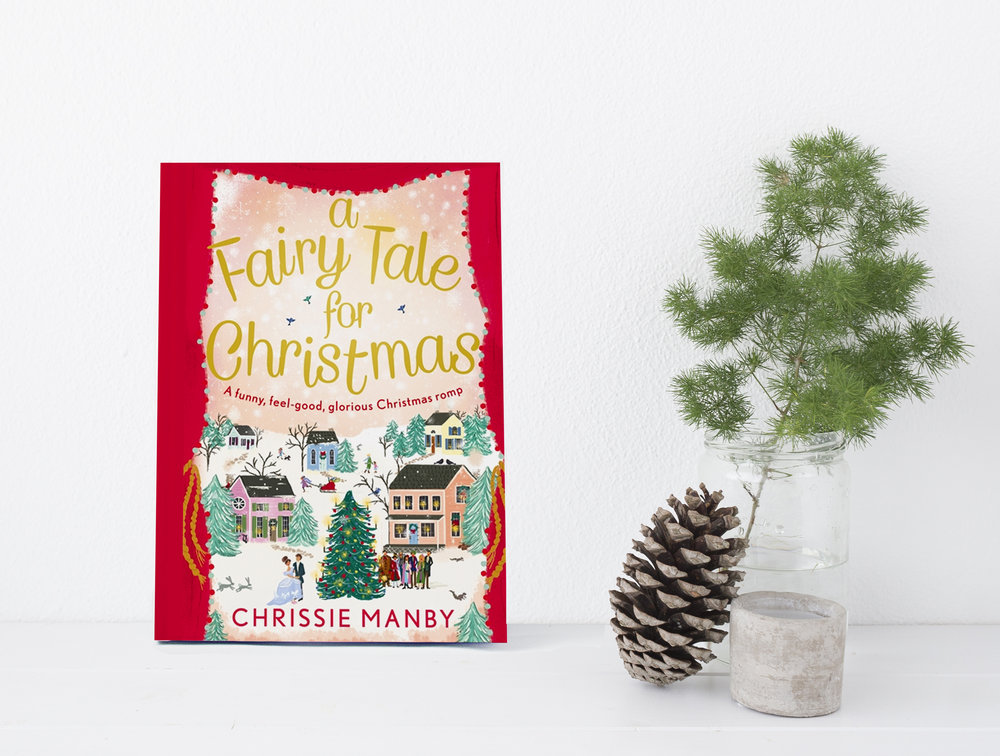 A Fairytale for Christmas by Chrissie Manby, Cover by Joy Laforme