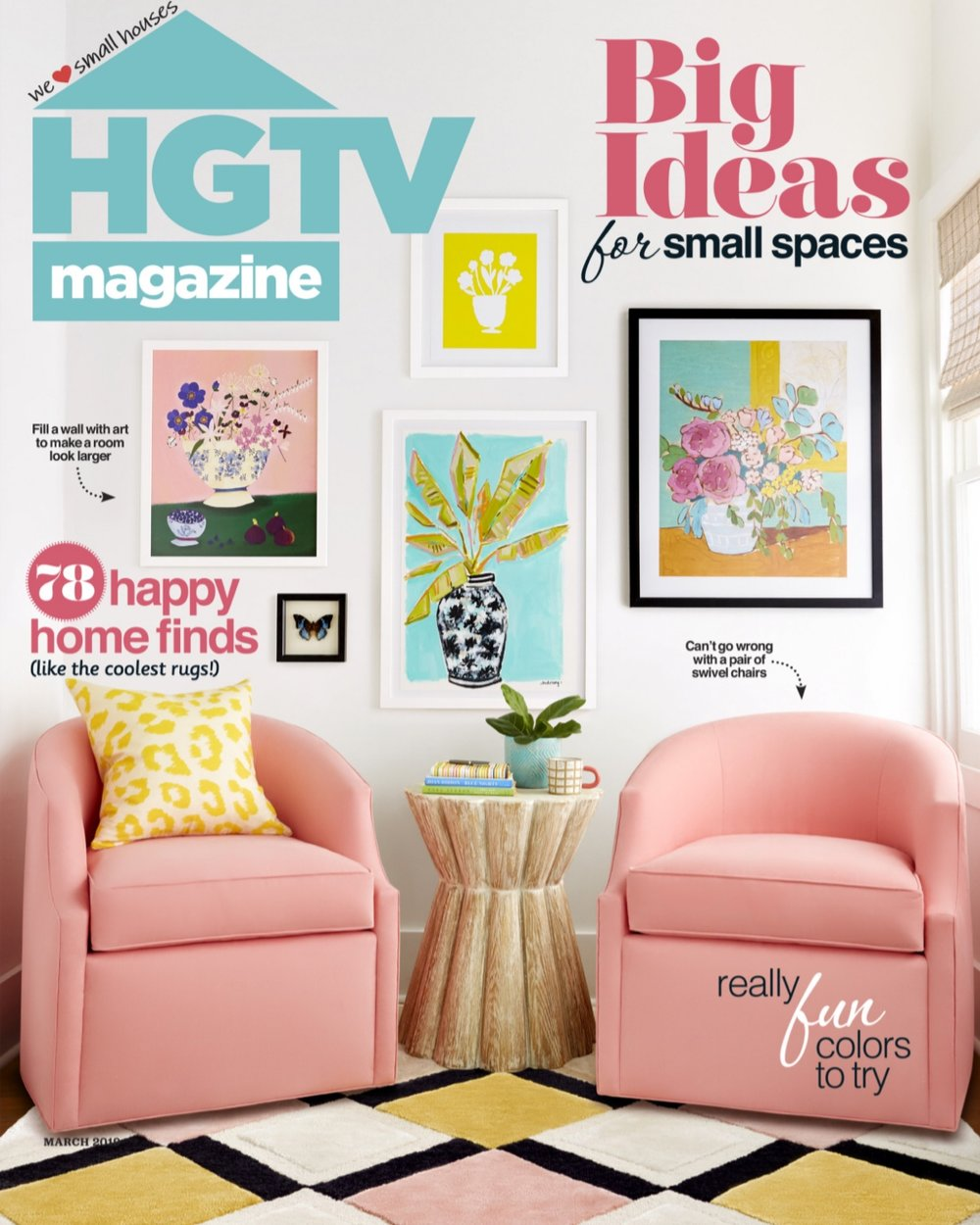 Joy Laforme x HGTV Magazine