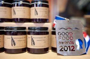 Good Food Award Finalist 2013 - Ground Cherry Jam Good Food Awards Winner 2012 - Concord Grape Jam Good Food Awards Winner 2011 - Ground Cherry Jam