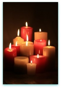 Beeswax candles that are free of synthetic fragrances and that possess cotton wicks are preferable.