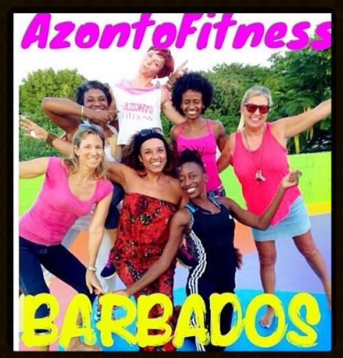 Azonto Dance Fitness first time in Barbados.