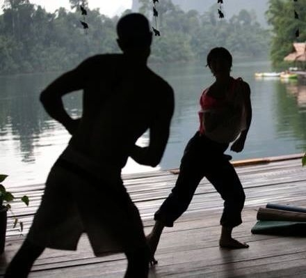 Azonto Dance @  Jungle Yoga , a floating yoga retreat in the middle of nowhere.