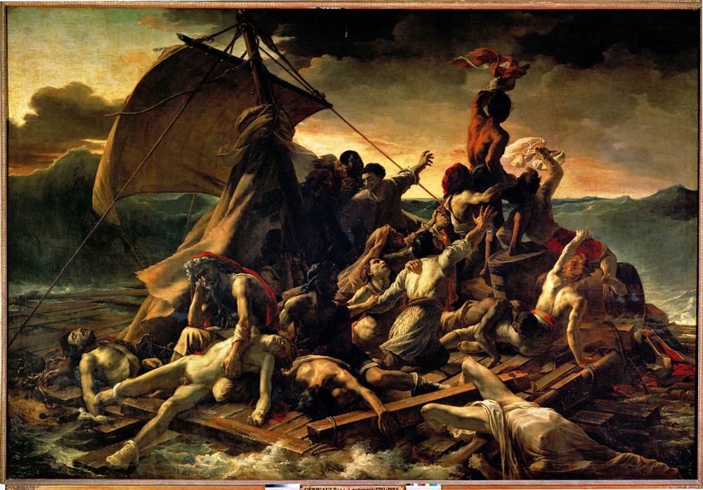 The Raft of the Medusa - Gericault.jpg