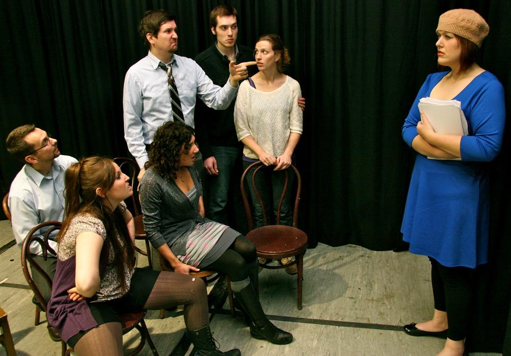 Jack Dugan Carpenter, Kristen T. King, James Dunn, Sara Jean McCarthy, Ken Miller, Erika Haaland, Amber Gerencher(Photo b~1.JPG