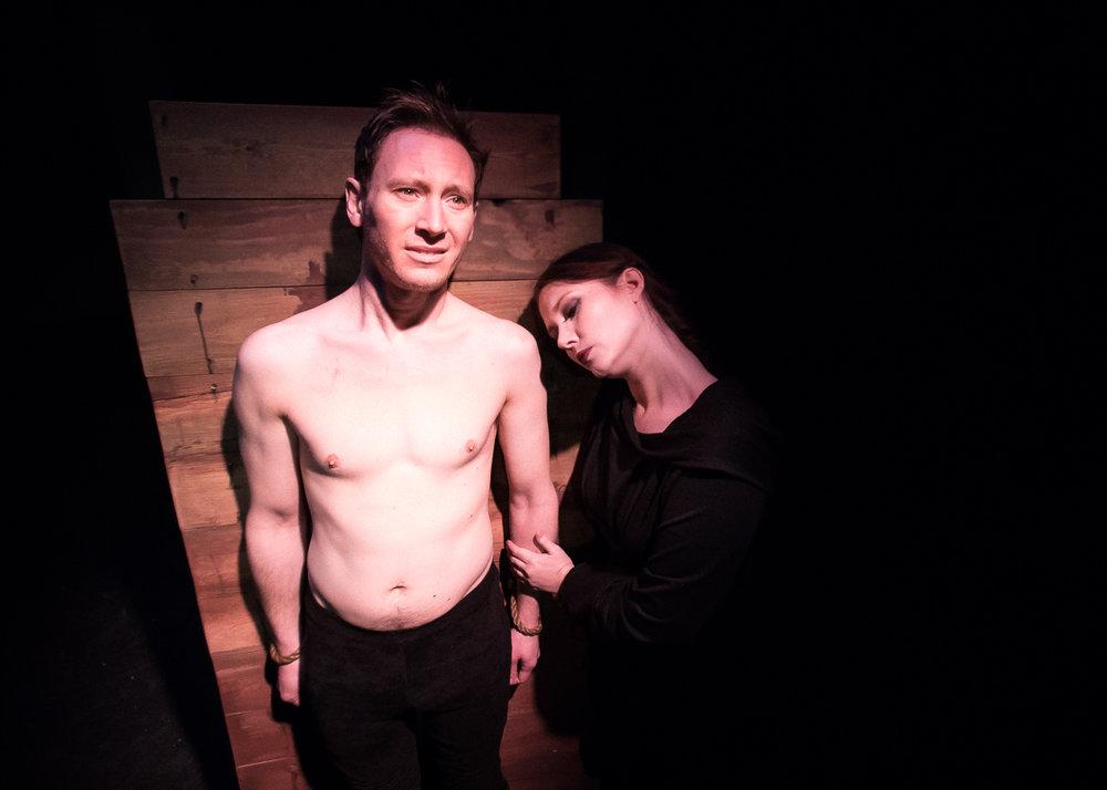Sean McGill and Jessica Saxvik. Photo by Joe Mazza of BraveLux.
