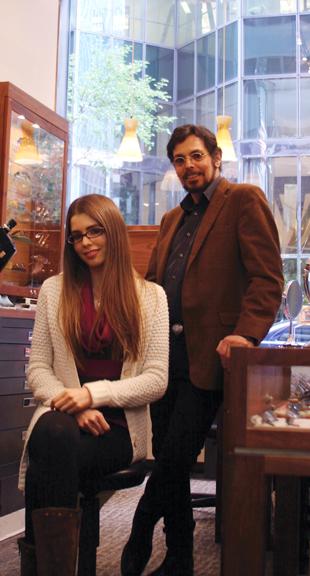 Rachel and Marc Zeitlin, 2012