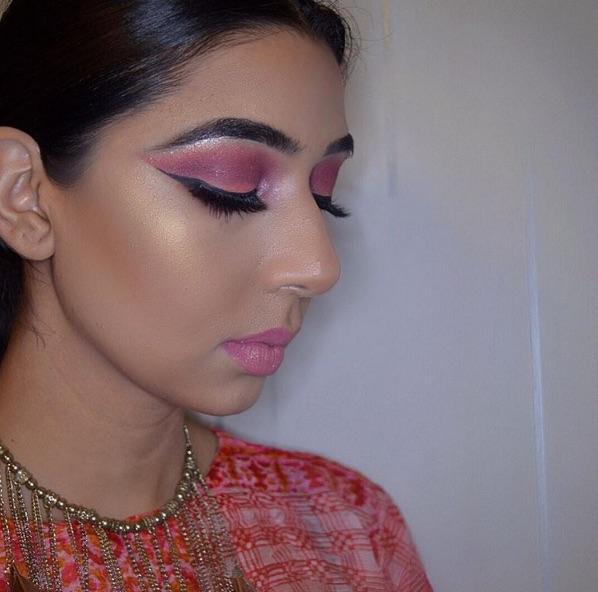 Pink Eyeshadows and Pink Lipstick.jpg