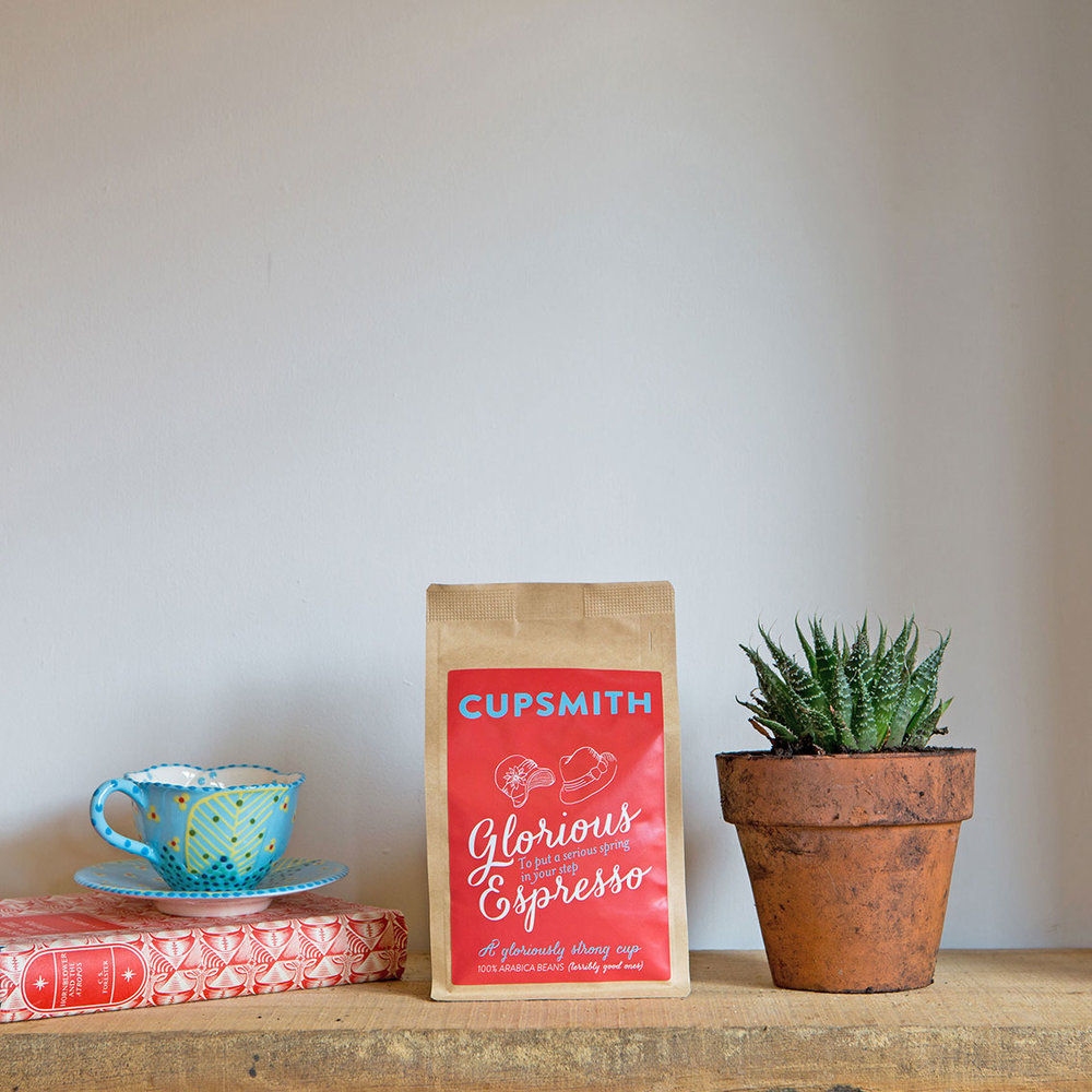 Cupsmith espresso coffee product shot