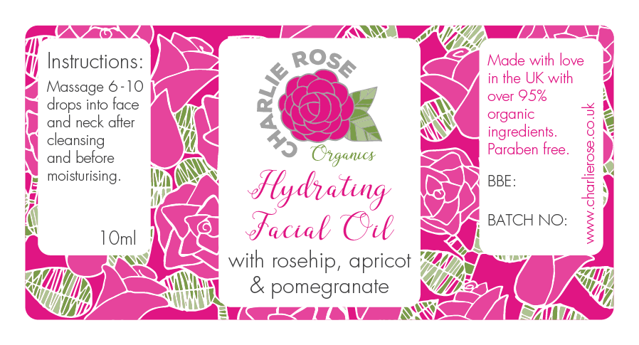 Charlie Rose facial oil