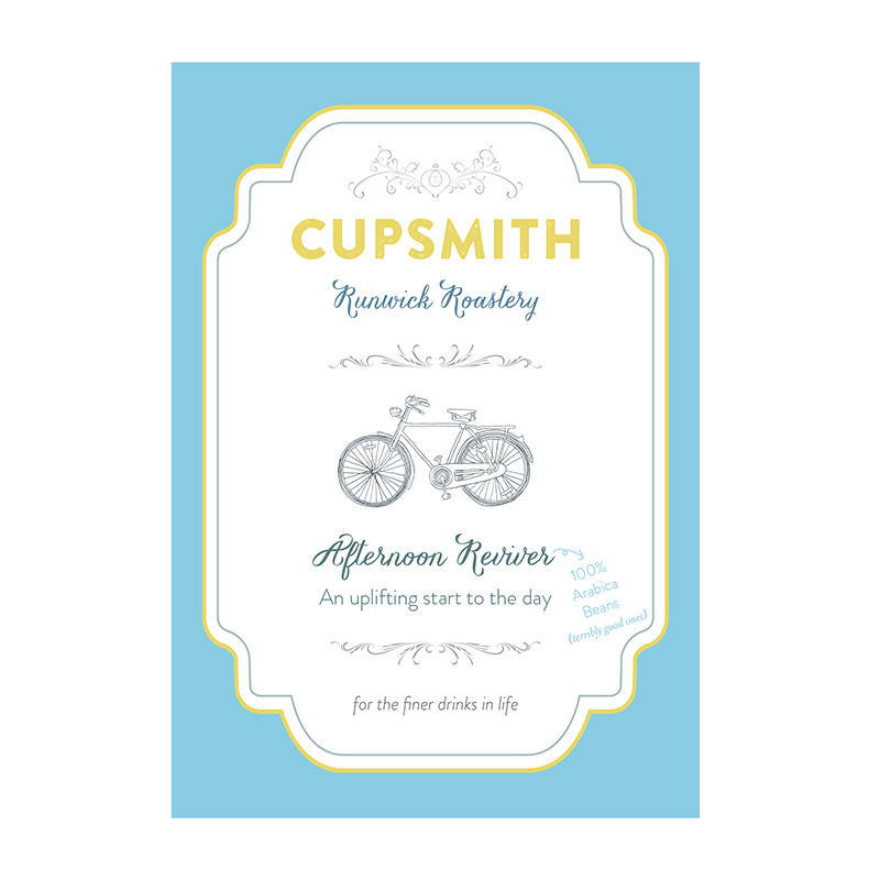 Cupsmith coffee label