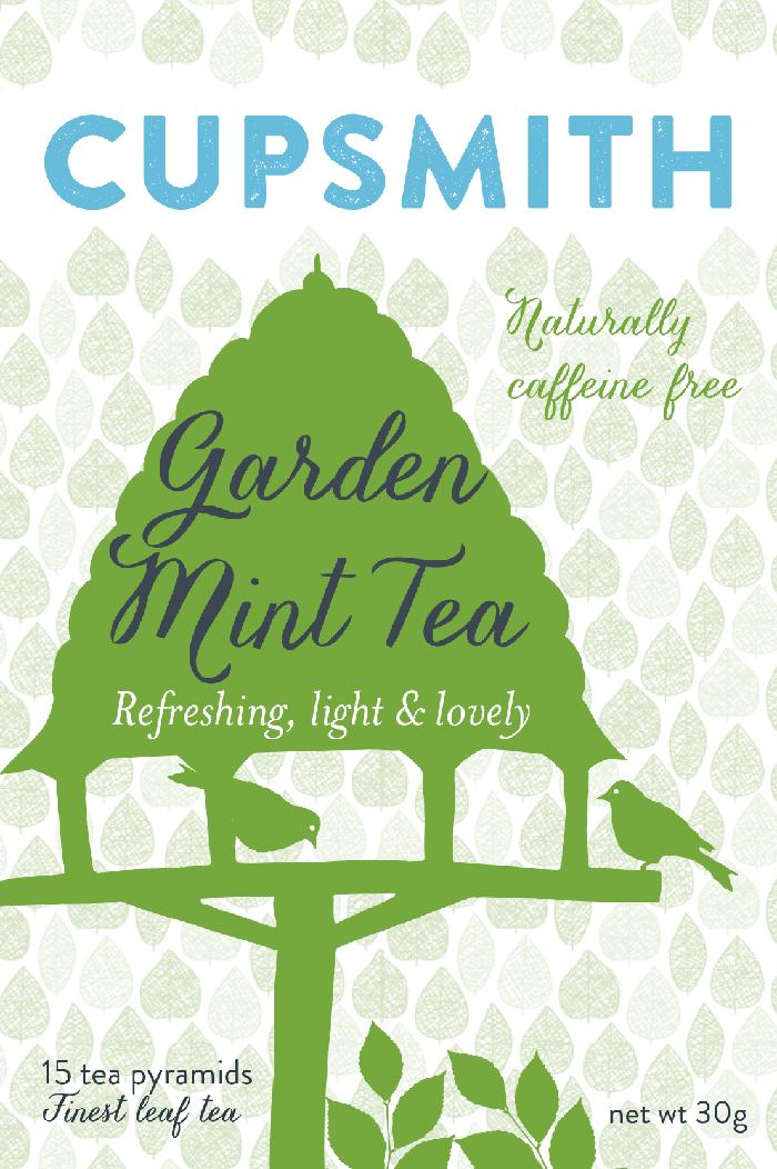 garden mint tea