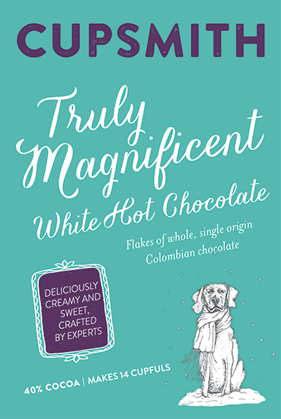 truly magnificent white hot chocolate