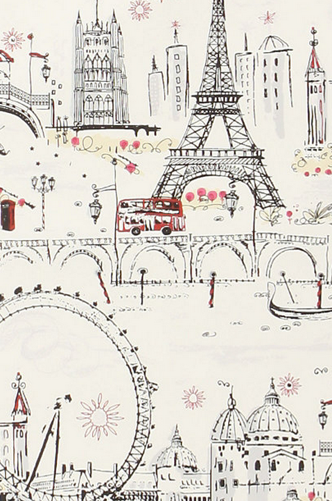 Slap this on your wall and pretend you're in the city of love.  C'est Magnifique by Anthropologie