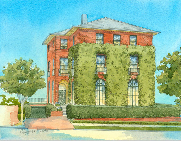 3660 Jackson Street - Illustration