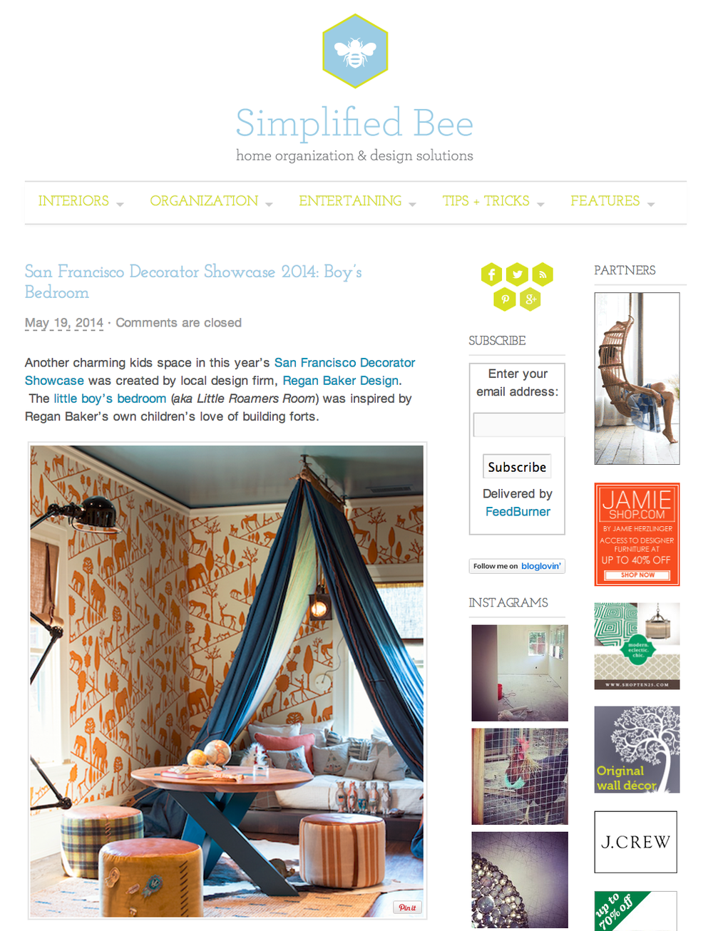 Simplified Bee Feature