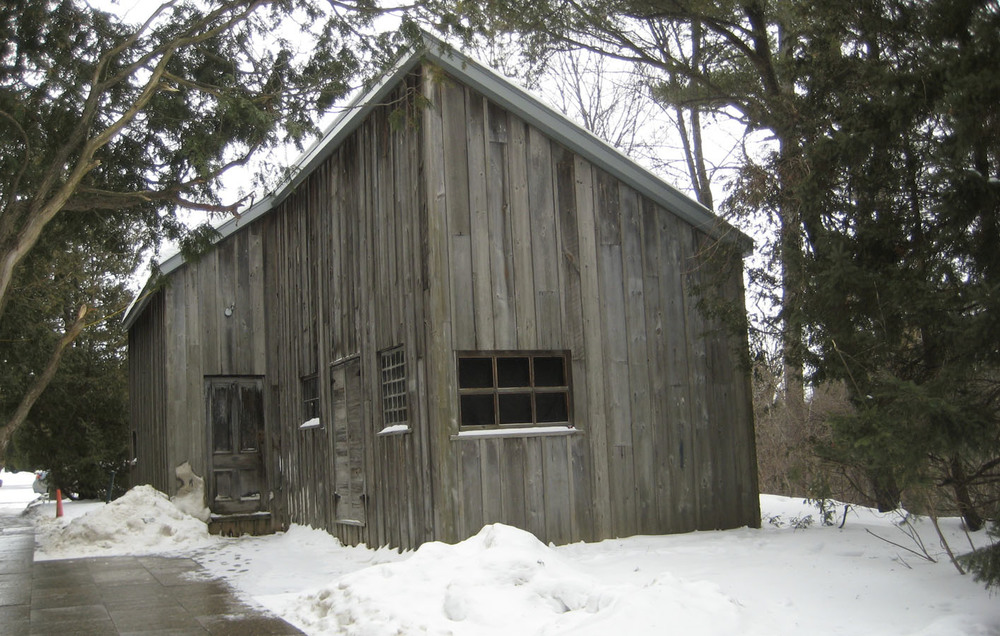 Tom Thomson painting shack at McMichael Canadian Collection Kleinburg, Ontario