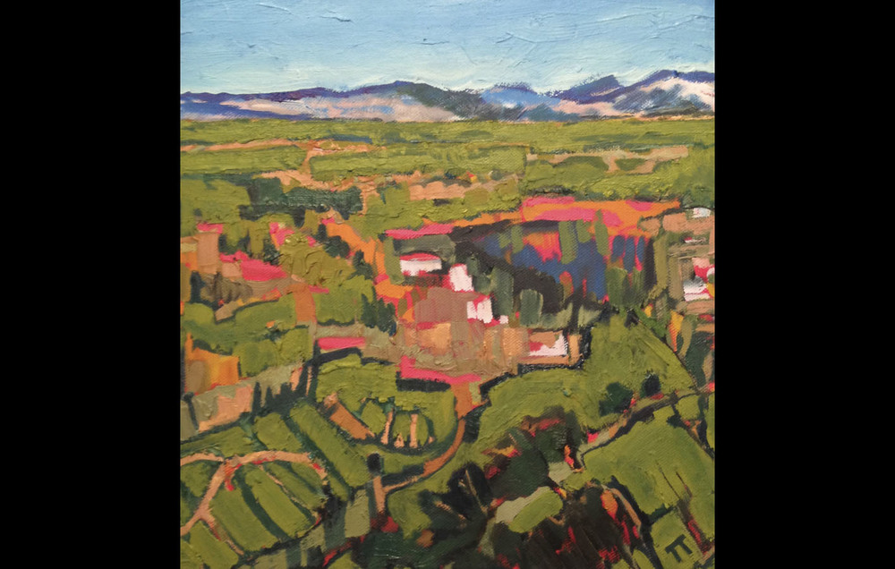 View Over Roccamorice (Italy Series)