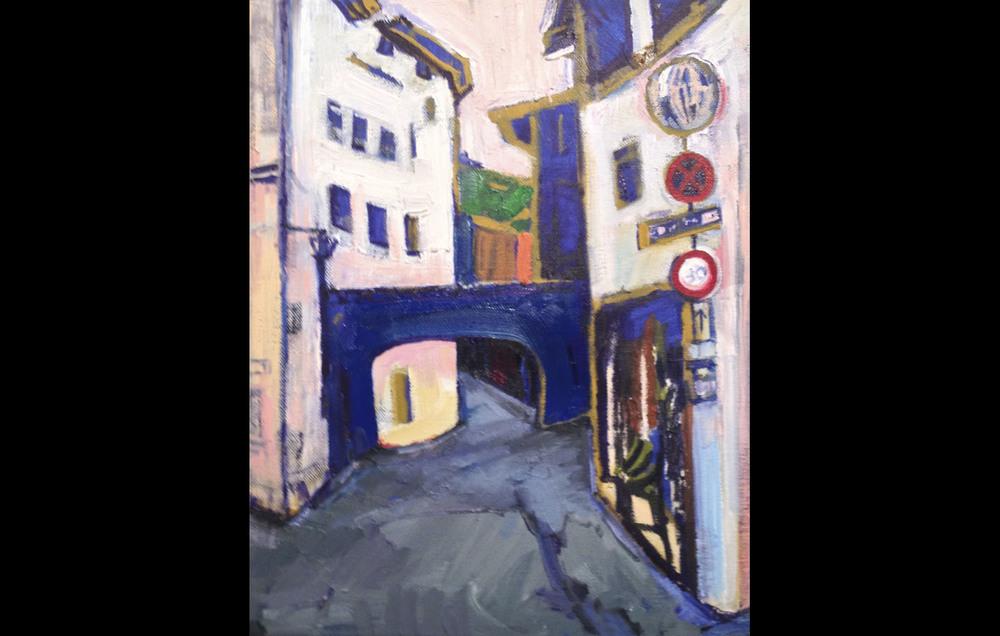 Streets of Spoleto (Italy Series)