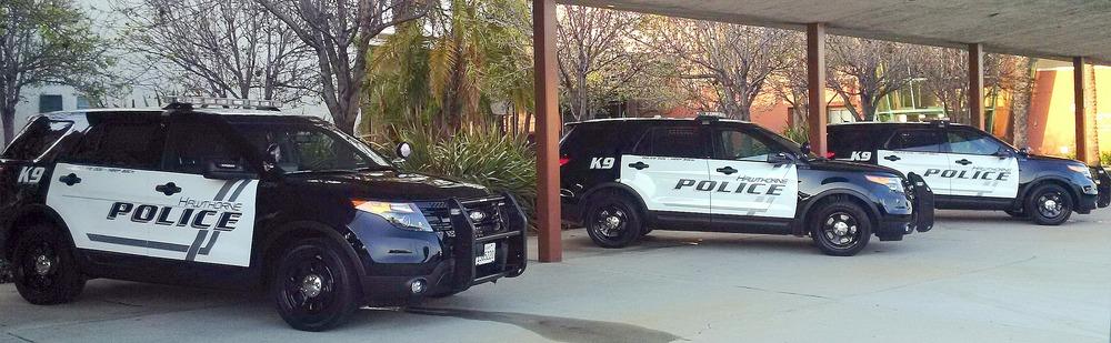 patrol vehicle hawthorne police