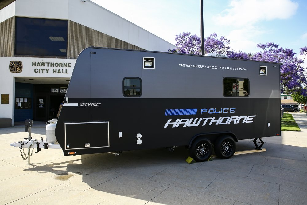 mobile police station hawthorne police