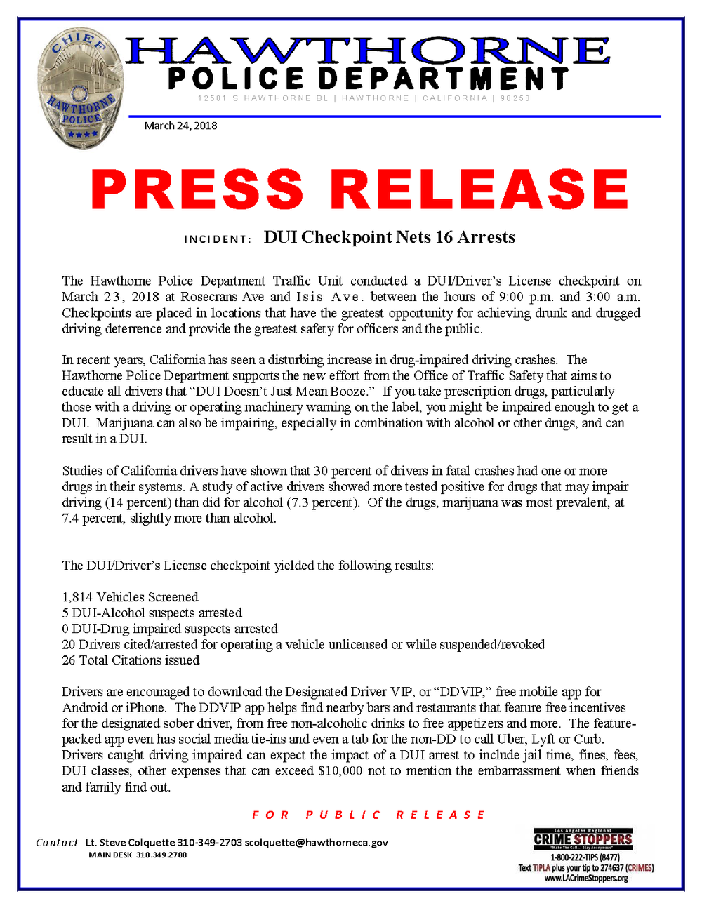 DUI - CDL CHKPOINT RESULTS PRESS RELEASE 003-23-18_Page_1.png