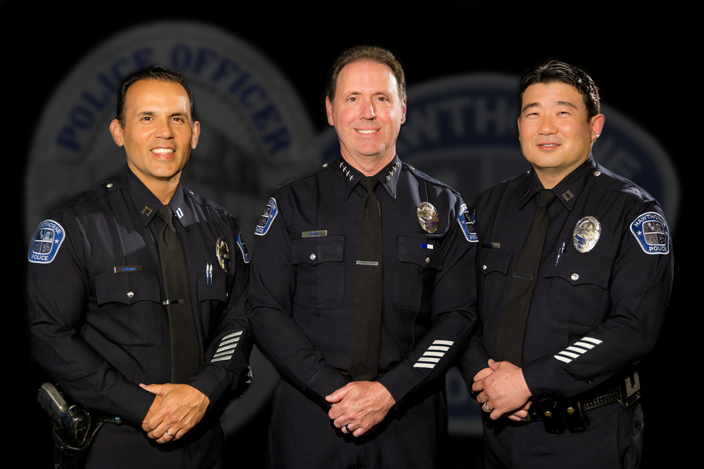 Captain Julian Catano - Chief Robert Fager - Captain Michael Ishii