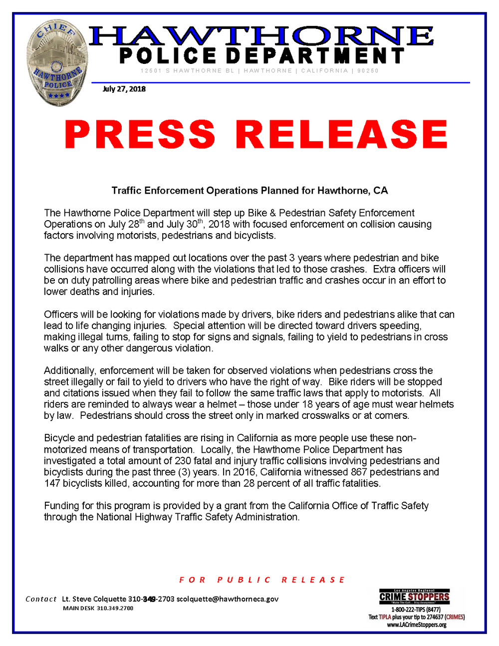 Bike-Ped #1 and #2 Press Release.png