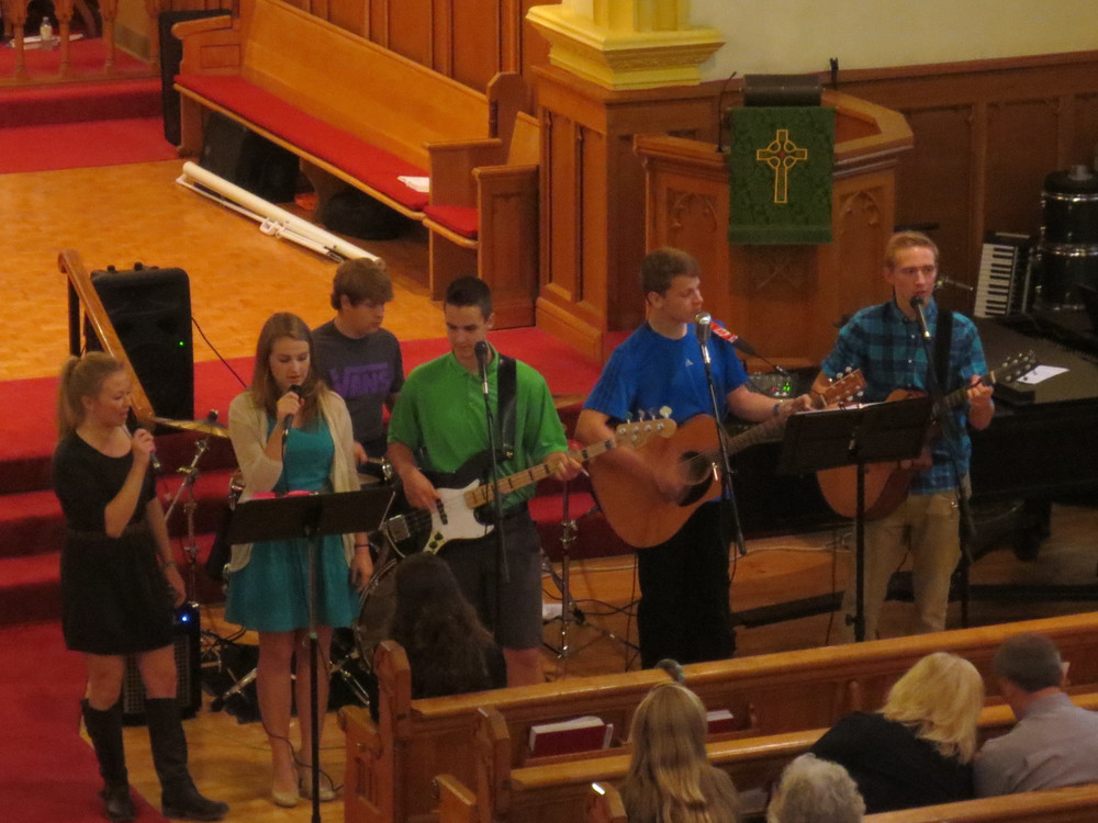 The Youth Praise Band