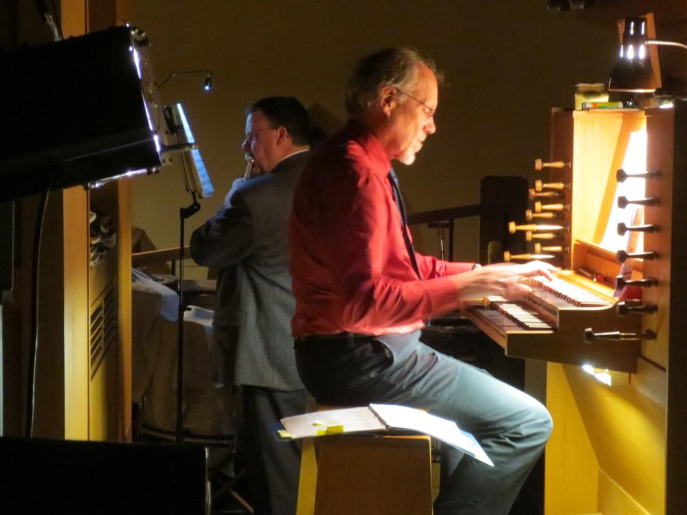 Gregory Stroh, flute, Bradley Moggach, organ. December 13, 2013