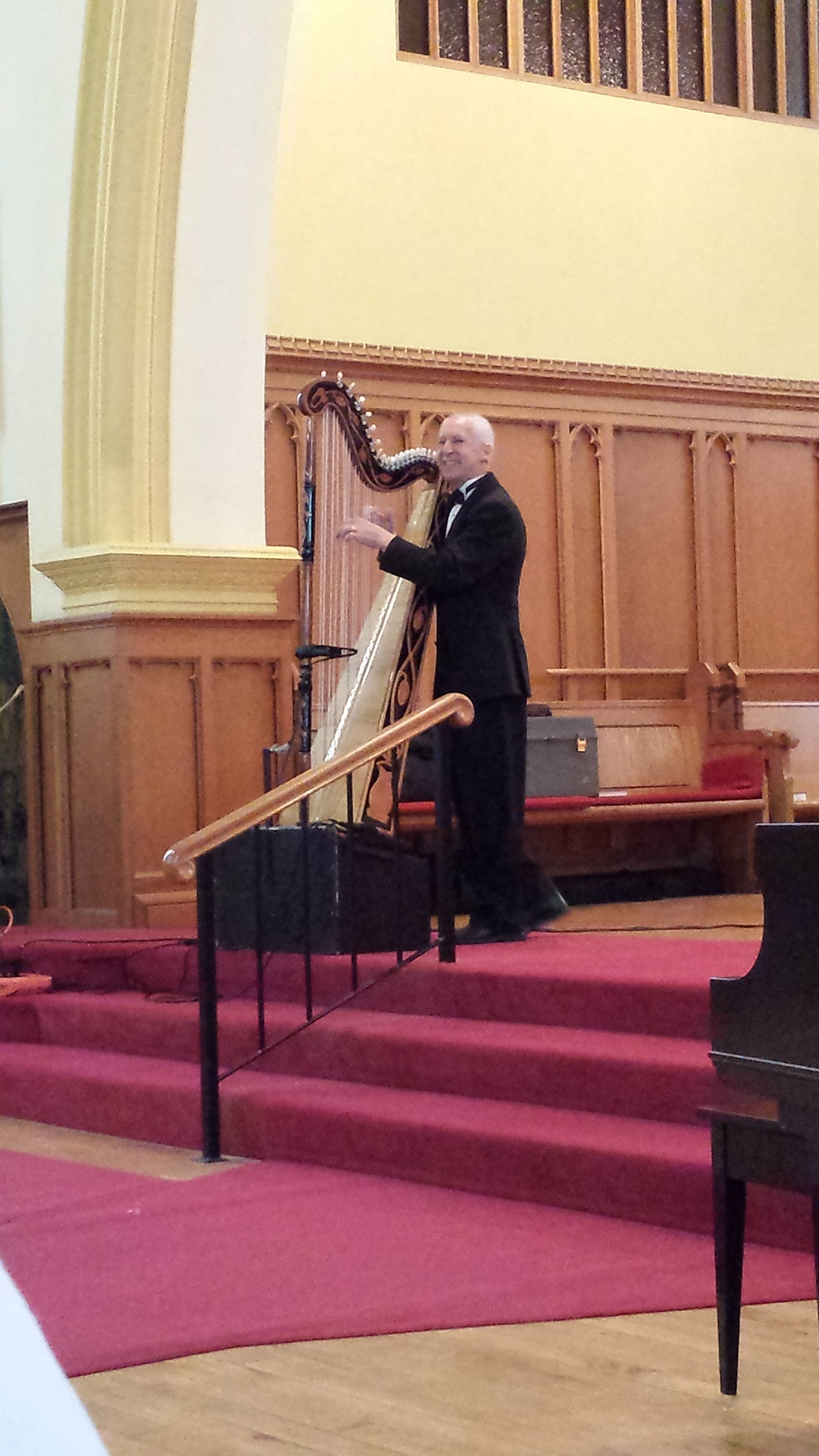 Eduard Klassen brought his enthusiastic faith and incredible musical talents to St. Peter's on Sunday, January 26th 2014. We were blessed by his witness and his gift of music!
