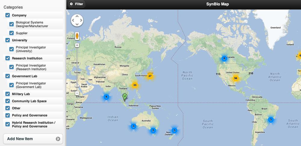 SynBio Map