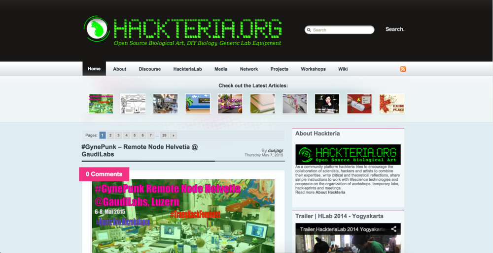 hackteria.org