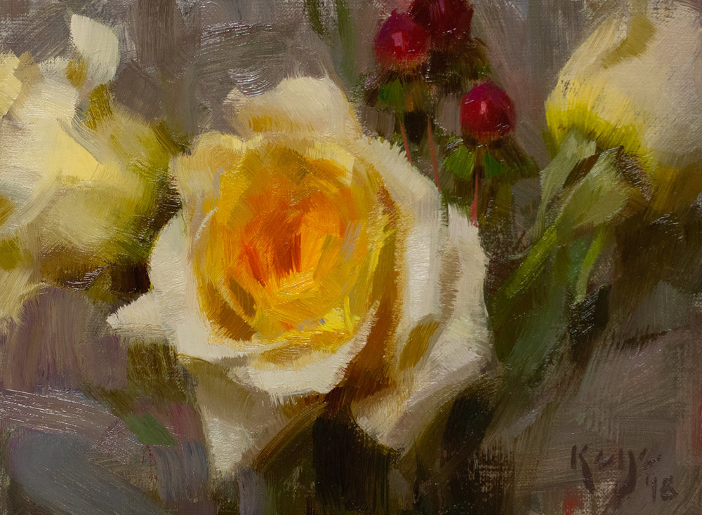 Yellow, Daniel Keys, 2018, 6 x 8 inches oil on linen.jpg
