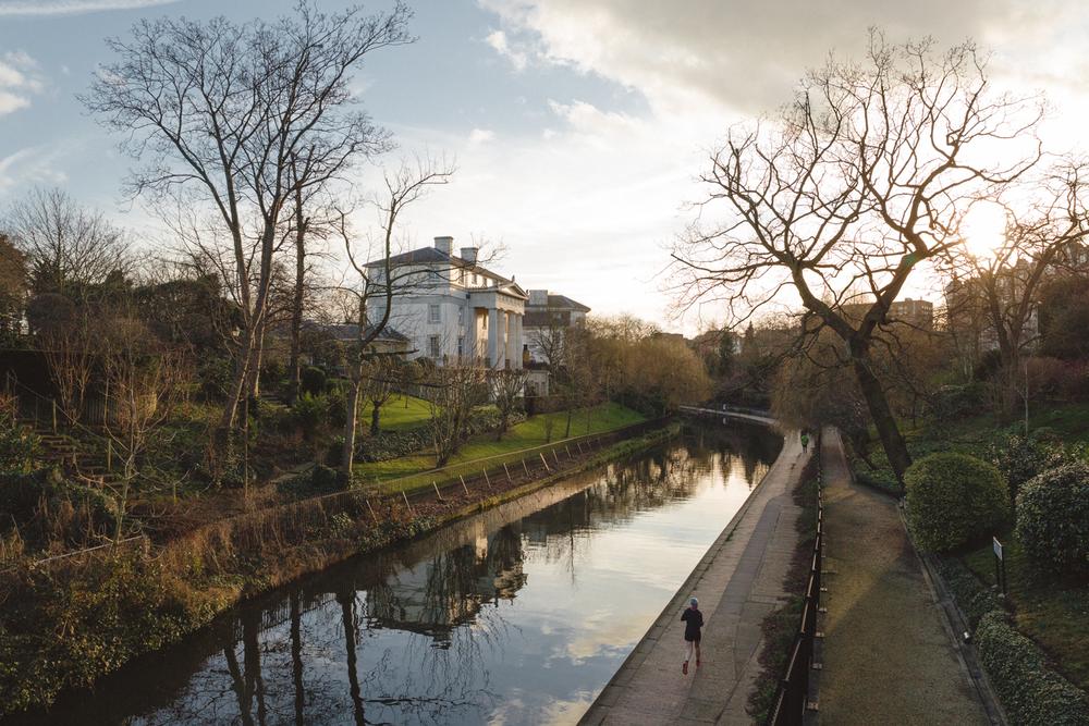 Grand Union Canal, Regent's Park, London
